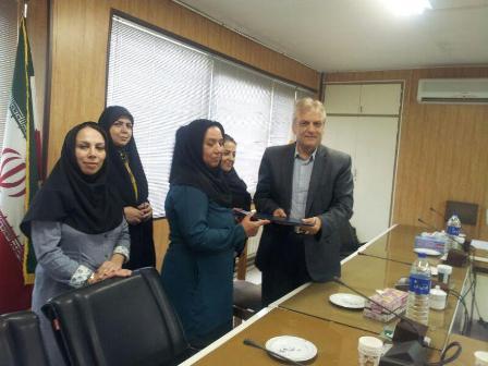 گرگان شهر دوستدار کودک  اجرای طرح کشوری ارتباط ( نامه ای به یک شهید)