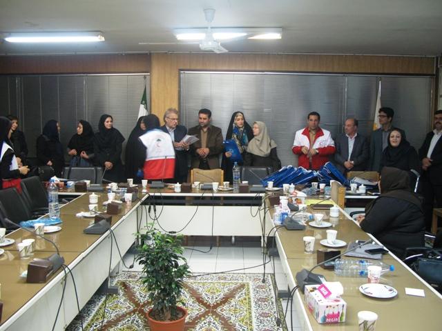 علیرضا پزشکپور؛  جوانان داوطلب هلال احمر گرگان در شورای شهر تجلیل شدند